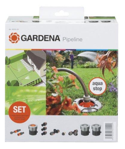 Gardena 8255-20 Sprinklersystem Start-Set für Garten-Pipeline