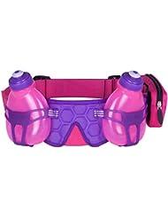 FuelBelt Trinkgürtel mit 2 Flaschen Helium H2O, Pink/Grape, 0873855000262