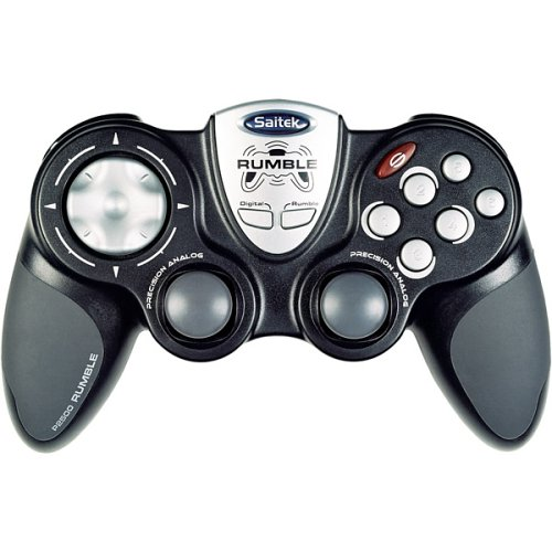 PC - Game Pad P2500 Rumble Pad USB (Saitek)