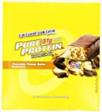 Worldwide Sports Nutrition Pure Protein Bar Chocolate Deluxe -- 12 Bars