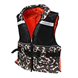 Best Adult Life Jackets - Segolike Camouflage/Red Adult Life Jackets Vest with Pockets Review