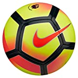 NIKE PITCH PREMIER LEAGUE FOOTBALL BALL 2017/2018 (Yellow/Crimson) size 3