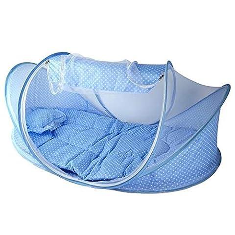 Sanwood Baby Infant tragbare Moskitonetz Matratze Pillow Bed Set faltbar Zelt