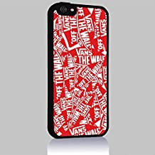 Vans on the Wall Iphone 4/4s 5 5c 6 6plus Case (iphone 6 black)