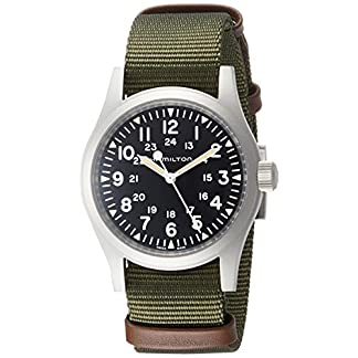 Reloj Hamilton Khaki Field Mechanical H69429931 diámetro 38 mm
