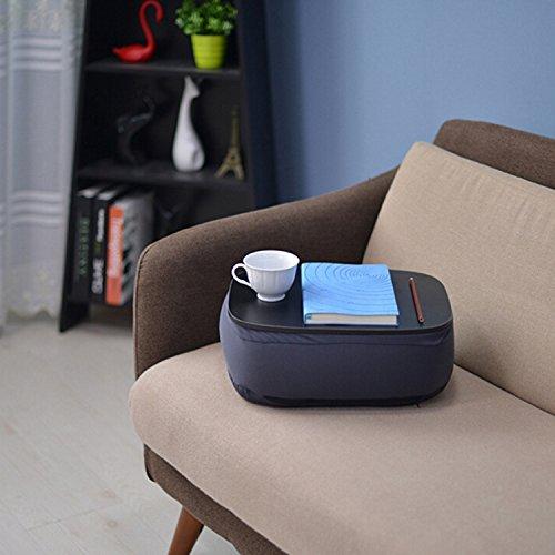outgeek Gepolsterte Laptop Schale, Lap Throw Pillow Schreibtisch Multifunktionale Tragbare Gepolsterte Laptop Pad Sofakissen (Portable Laptop Kissen Schreibtisch)
