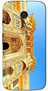 Timpax protective Armor Hard Bumper Back Case Cover. Multicolor printed on 3 Dimensional case with latest & finest graphic design art. Compatible with Motorola Moto -G-2 (2nd Gen )Design No : TDZ-25127