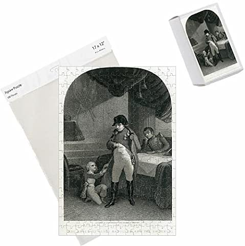 Photo Jigsaw Puzzle of Last adieu of Louis Napoleon and the Emperor, 2nd June 1815 (engraving)