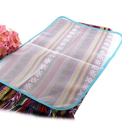 Wommty confezione da 5panni da stiro-risparmio di stiratura scorch mesh pressing pad panno per evitare danni e brillantezza per indumenti, abiti e stirare-59,9x 39,9cm (60cm x 40cm)