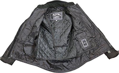 Damen Motorrad Jacke Wasserdicht (Taillierte Passform) - 3