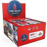 THE HEAT COMPANY Fußwärmer - 5, 15 oder 40 Paar - EXTRA WARM - klebend - Zehenwärmer - 8 Stunden warme Füße - sofort einsatzbereit - luftaktiviert - rein natürlich - für alle Größen