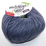 Woolly Hug´s SHEEP-0055 jeansblau
