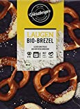 Herzberger Bäckerei Bio Laugenbrezel mit Hagelsalz, 528 g (Tiefgefroren)