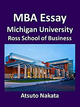 Ross school of business essays