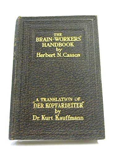 The Brain-Workers' Handbook