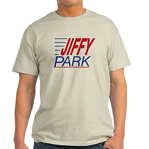 CafePress Jiffy Park Tee Shirt Ash Grey - 100% Cotton T-Shirt