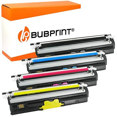 Bubprint 4 Toner kompatibel für Konica Minolta A0V301H A0V30HH A0V30CH A0V306H für Magicolor 1600W 1650EN 1680MF 1690MF 2500 Seiten BK/C/M/Y