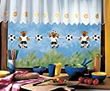 Girlande FUSSBALL-NATIONALMANNSCHAFT bis 200 cm lang, beidseitig bedruckt, aus Papier, Pappe für Kinder, Fußballweltmeisterschaft 2018