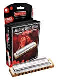 Harmonicas HOHNER DIATONIQUE 1896/20 MARINE BAND 10 TROUS A LA Marine band