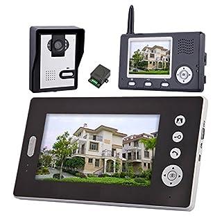 A15 2.4G Funk Video Türsprechanlage Set Kamera mit 3.5