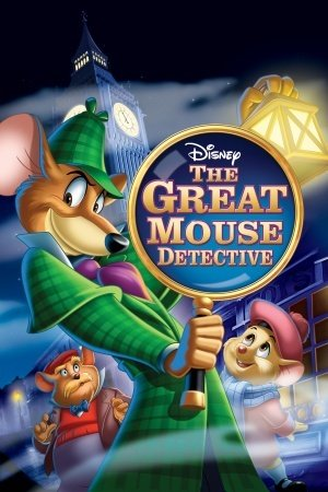 The Great MOU.SE Detective - U.S Movie Wall Poster Print - 43cm x 61cm / 17 Inches x 24 Inches A2 Disney (Detective Dvd Mouse Great)