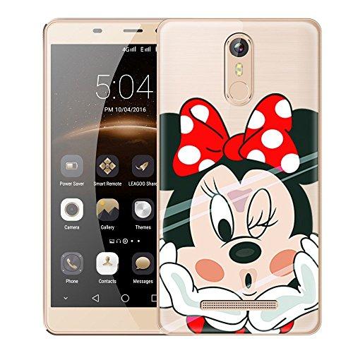 PREVOA Colorful Silicona TPU Funda Case Protictive para LEAGOO M8 / M8 Pro Smartphone -