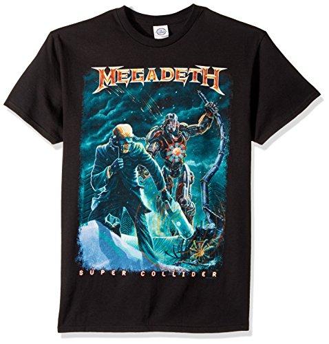 FEA - Camiseta - Unisex de color Negro de talla Large - Megadeth...