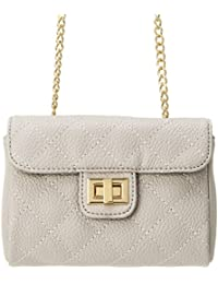 M&c Women's | Quilted Gold-Tone Chain Handbag
