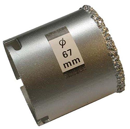 BGS Bohrkrone für Fliesenlochbohrsatz, 67 mm, 3913