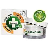 Annabis Cremcann Omega 3–6–50ml–Crema idratante rigenerante e aiuta con rughe, eczema, psoriasi e acne–Made with Omega 3& 6da Cannabis sativa canapa estratto.