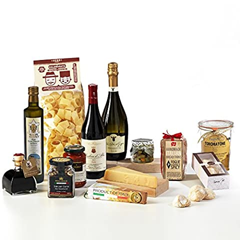 Hay Hampers Gourmet Tastes of Italy Hamper Box - FREE
