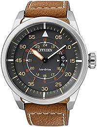 Citizen Eco-Drive Analog Grey Dial Men's Watch - AW1360-12H