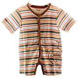 Spieler Kurzer Sommer Baby Strampler Body 62 68 74 80 86 NEU Unisex Neutral (68/74 (ETT74))