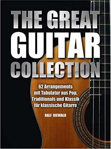The Great Guitar Collection. Partitions pour Guitare, Ligne De Mélodie, Paroles et Accords