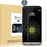 [2 Pack]LG G5 verre trempé,EasyULT LG G5 Verre Trempé Protecteur d'écran Protection Résistant aux éraflures Glass Screen Protector Vitre Tempered(0,26mm HD Ultra transparent)