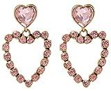 Chkokko Pink Alloy Dangle & Drop Earring...