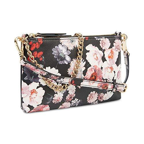 Nine West Floral Print Pouchette Crossbody Shoulder Bag -