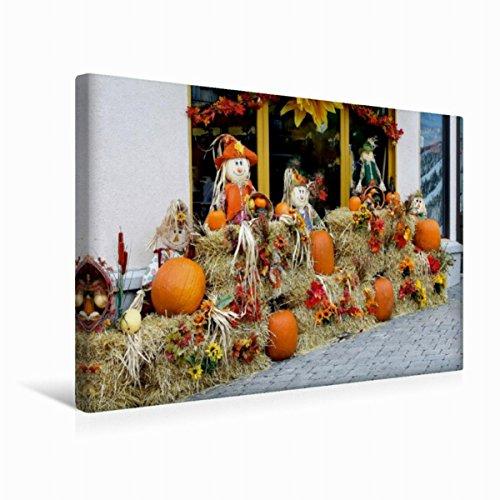r 31. Oktober ist Halloween-Party 45x30cm, Special-Edition Wandbild, Bild auf Keilrahmen, Fertigbild auf hochwertigem Textil, Leinwanddruck, kein Poster ()