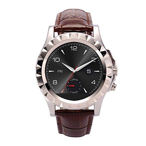 Haehne NO.1 Dom S2 Bluetooth Inteligente Reloj 1.3MP Cámaras WristWatch para iOS...