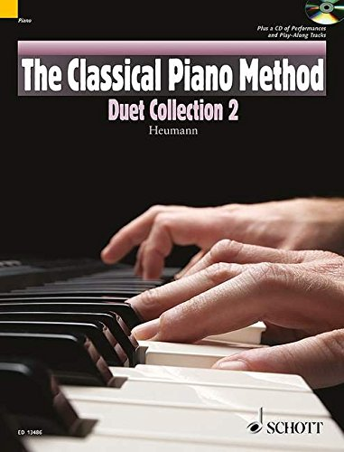 "The Classical Piano Method: Duet Collection 2 - A selection of duets linked to the level of ""Method Book 2"", to play with a friend or with enclosed CD - edition with CD - (ED 13486)"