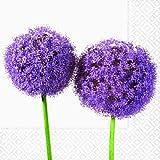 20 Servietten Flower purple - Zwiebelblume - broste Copenhagen