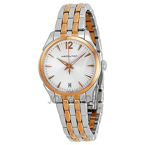 Hamilton Hamilton Jazz Master Lady Quartz Rose Gold PVD and Steel Ladies Watch H42221155