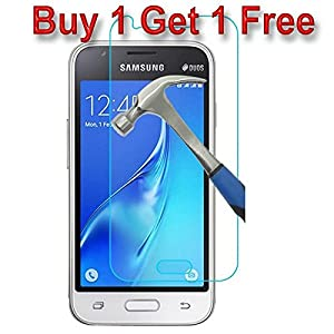 For Samsung Galaxy J5 Buy 1 Get 1 Free Tempered Glass HD Pro+ Tempered Glass Screen Protector 9H Hardness Ultra Clear,Anti-Scratch,Bubble Free,Anti-Fingerprints & Oil Stains Coating