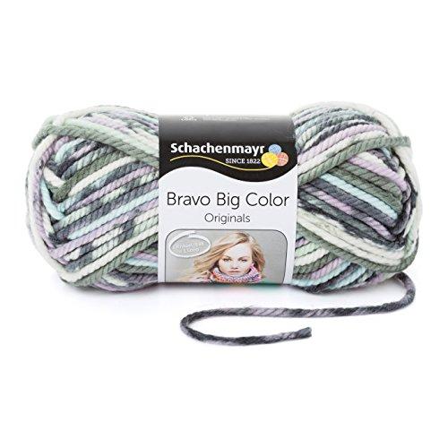 Schachenmayr  Bravo Big Color 9807720-00090 Grau-Pastell Handstrickgarn