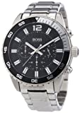 Hugo Boss Herren-Armbanduhr XL Chronograph Quarz Edelstahl 1512806