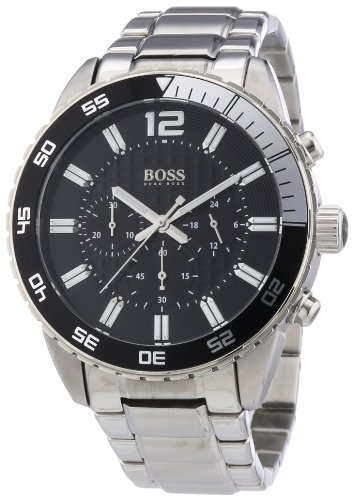 Hugo Boss Men's Quartz Watch 1512806 1512806 with Metal Strap