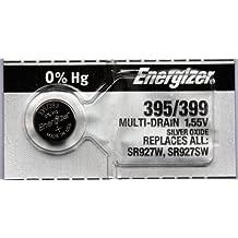 2 pc Energizer 395 399 SR927SW SR927W óxido de plata pila de botón para reloj