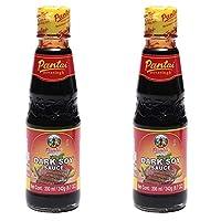 Thai Dark SOYA Sauce Pantai - 200 ml (Pack of 2)