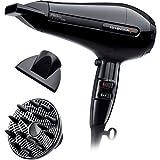 Dessange Remington Sèche-Cheveux 2200W Moteur AC Professionnel Ionique, Puissant, Silencieux, Léger - Accessoires inclus - AC6121DS