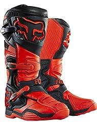 Fox Botas de Motocross Comp 8 - Naranja, 42.5